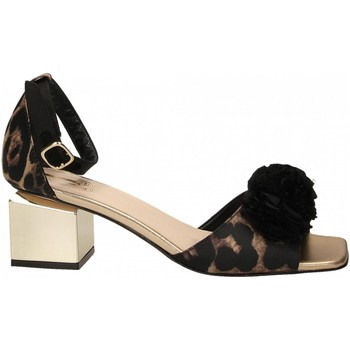 Schoenen Dames Sandalen / Open schoenen Jeannot SCARPE D platino---nero