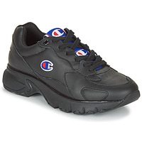 Schoenen Dames Lage sneakers Champion CWA-1 LEATHER Zwart