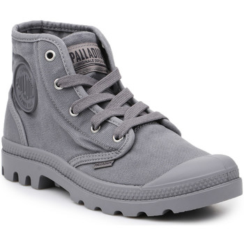 Schoenen Heren Hoge sneakers Palladium Manufacture Lifestyle shoes  US Pampa Hi Titanium 92352-011-M grey