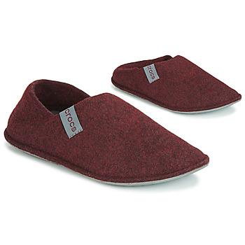Schoenen Sloffen Crocs CLASSIC CONVERTIBLE SLIPPER Bordeau / Grijs