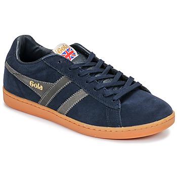 Schoenen Heren Lage sneakers Gola EQUIPE SUEDE Blauw