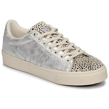 Schoenen Dames Lage sneakers Gola ORCHID II CHEETAH Wit / Zilver