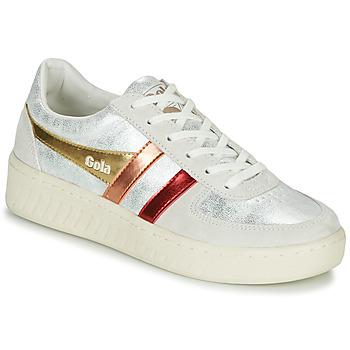 Schoenen Dames Lage sneakers Gola GRANDSLAM SHIMMER FLARE Beige / Zilver