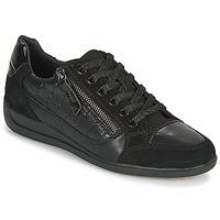 Schoenen Dames Lage sneakers Geox D MYRIA A Zwart