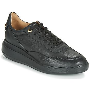 Schoenen Dames Lage sneakers Geox D RUBIDIA Zwart