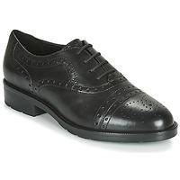 Schoenen Dames Derby Geox D BETTANIE Zwart