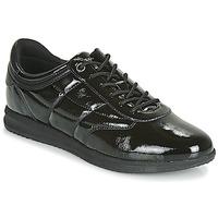 Schoenen Dames Lage sneakers Geox D AVERY Zwart