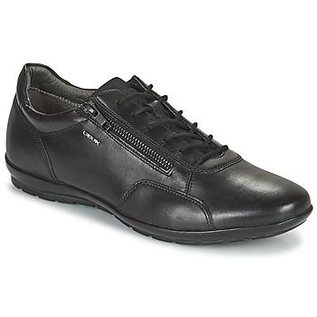 Schoenen Heren Derby Geox UOMO SYMBOL Zwart