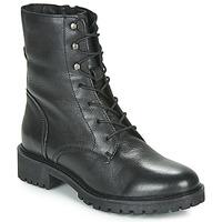 Schoenen Dames Laarzen Geox D HOARA Zwart