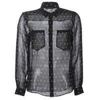 Textiel Dames Overhemden Ikks BP12165-02 Zwart