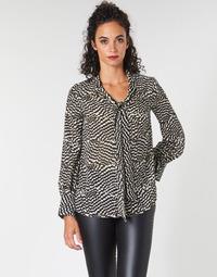 Textiel Dames Tops / Blousjes Ikks BP13065-02 Beige / Zwart