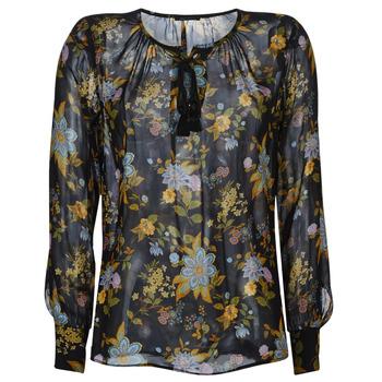 Textiel Dames Tops / Blousjes Ikks BP13125-02 Zwart / Multicolour
