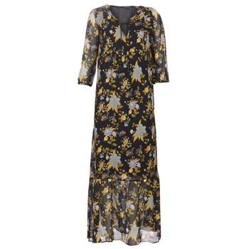 Textiel Dames Lange jurken Ikks BP30195-02 Zwart / Multi