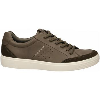 Schoenen Heren Lage sneakers Ecco Soft 7 M TarmacDarkclay SuedeDroid tarmac-marrone