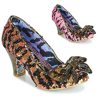 Schoenen Dames pumps Irregular Choice LADY BANJOE Zwart / Goud