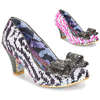 Schoenen Dames pumps Irregular Choice LADY BANJOE Wit / Zwart