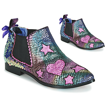 Schoenen Dames Enkellaarzen Irregular Choice STARLIGHT EMPRESS Roze