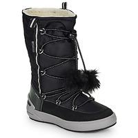 Schoenen Meisjes Hoge laarzen Geox J SLEIGH GIRL B ABX Zwart