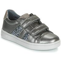Schoenen Meisjes Lage sneakers Geox J DJROCK GIRL Grijs