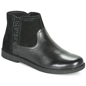 Schoenen Meisjes Laarzen Geox J SHAWNTEL Zwart