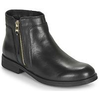 Schoenen Meisjes Laarzen Geox JR AGATA Zwart