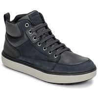 Schoenen Jongens Hoge sneakers Geox J MATTIAS B BOY ABX Blauw / Zwart