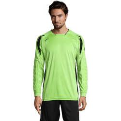 Textiel Heren T-shirts met lange mouwen Sols AZTECA SPORTS Verde