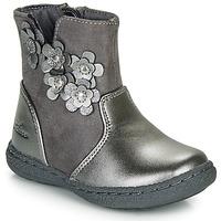 Schoenen Meisjes Hoge laarzen Chicco CINEY Grijs