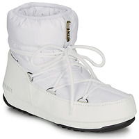 Schoenen Dames Snowboots Moon Boot LOW NYLON WP 2 Wit