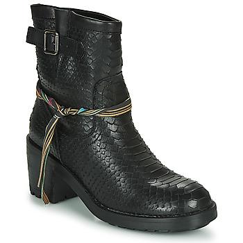 Schoenen Dames Enkellaarzen Felmini NAHA Zwart