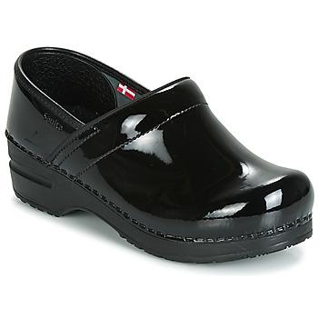 Schoenen Dames Klompen Sanita PROF Zwart