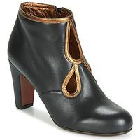 Schoenen Dames Enkellaarzen Chie Mihara KOSPI Zwart / Goud