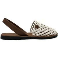 Schoenen Dames Sandalen / Open schoenen Popa granadella blanc&cuir 99012 Rood