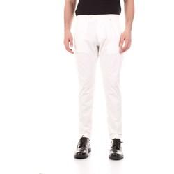 Textiel Heren 5 zakken broeken Bicolore F2576-ZINCO Bianco