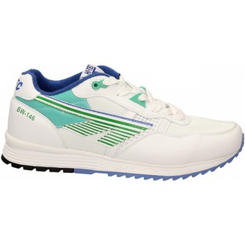Schoenen Heren Lage sneakers Hi-Tec BADWATER 146 white-green-purple