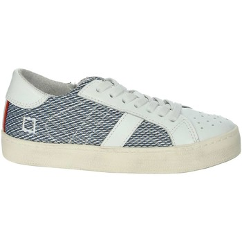 Schoenen Jongens Lage sneakers Date HILL LOW-O White/Blue