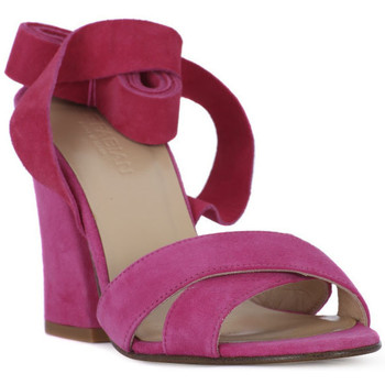 Schoenen Dames Sandalen / Open schoenen Le Fabian FUXIA CAMOSCIO Rosa