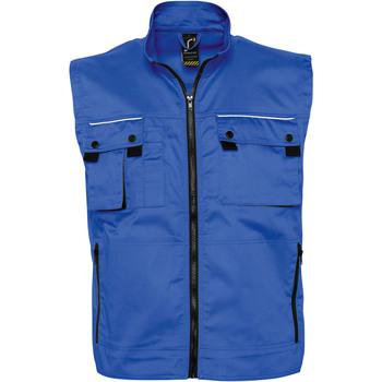 Textiel Vesten / Cardigans Sols ZENITH PRO - WORK Azul