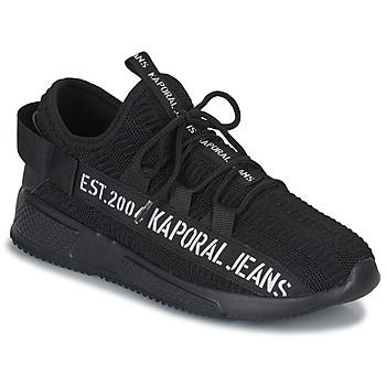 Schoenen Heren Lage sneakers Kaporal DOFINO Zwart