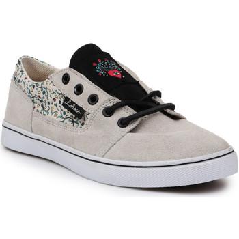 Schoenen Dames Lage sneakers DC Shoes DC Bristol LE 303214-TDO beige, black