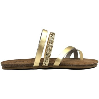 Schoenen Dames Sandalen / Open schoenen Amoa sandales LORGUES Or Goud