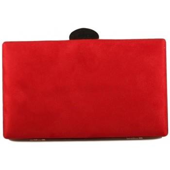 Tassen Dames Tasjes / Handtasjes Luna Collection 41120 rood