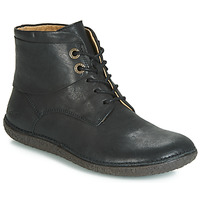 Schoenen Dames Laarzen Kickers HOBBYTWO Zwart
