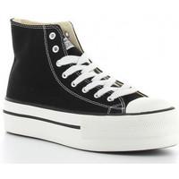 Schoenen Dames Hoge sneakers Victoria TRIBU DOBLE1061101 Noir