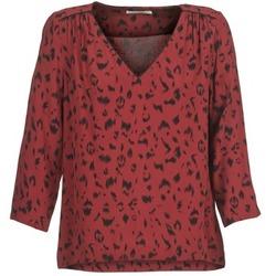 Textiel Dames Tops / Blousjes See U Soon TRIRIVIER Bordeau