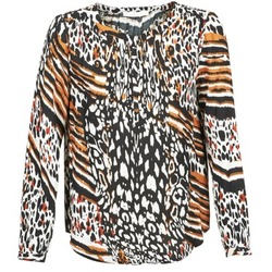 Textiel Dames Tops / Blousjes See U Soon CABRI Multicolour