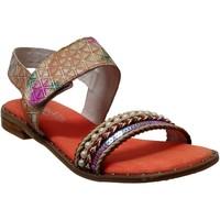 Schoenen Dames Sandalen / Open schoenen Laura Vita Flcorenceo 01 Oranje