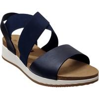 Schoenen Dames Sandalen / Open schoenen Plakton Speed tor Marineblauw leer