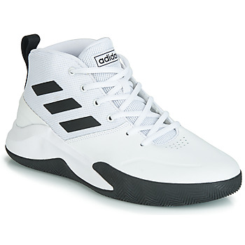 Schoenen Heren Basketbal adidas Performance OWNTHEGAME Wit / Zwart