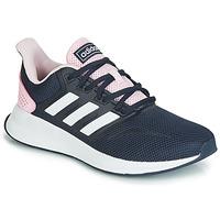 Schoenen Dames Lage sneakers adidas Performance RUNFALCON Zwart / Roze